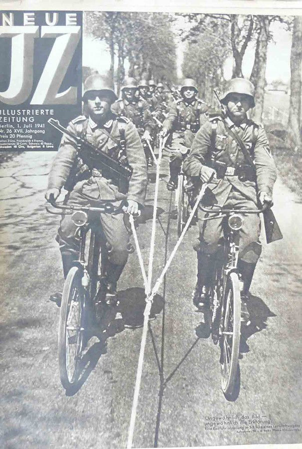 Friday Photo - Germans on bikes