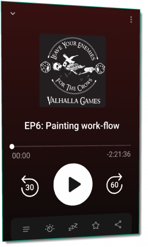 Podcast EP6: Painting work-flow