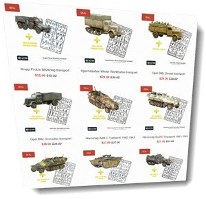 Warlord special: Transport plus a sprue deal