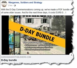 Wargames, Soldiers and Strategy 3 PDF issues for free!