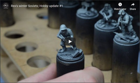 Rex's winter Soviets; Hobby update #1