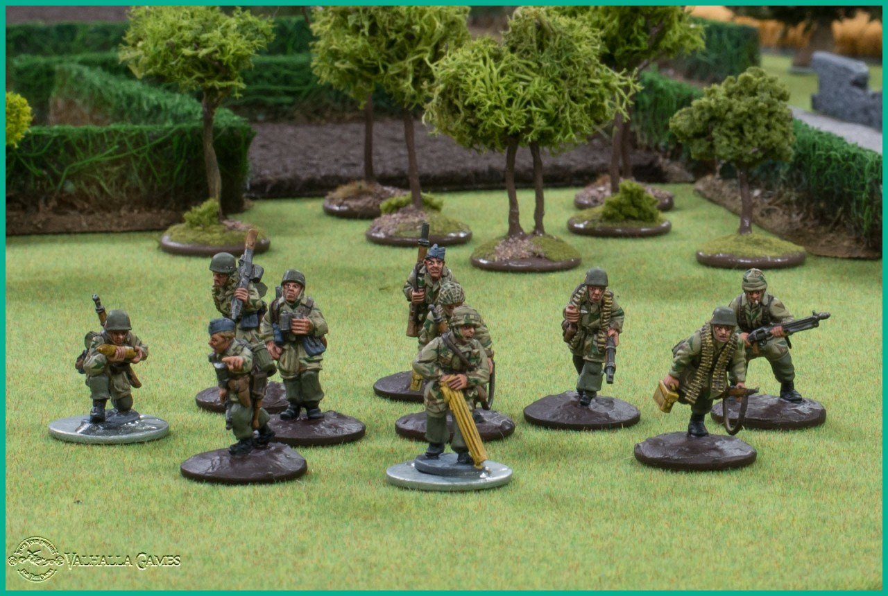 Fallschirmjager infantry project  - Part II