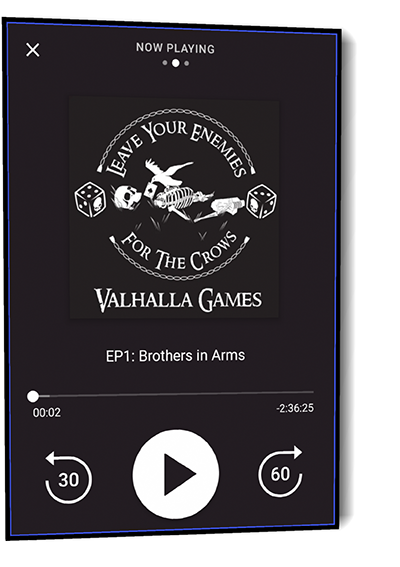 valhallagames podcast EP1