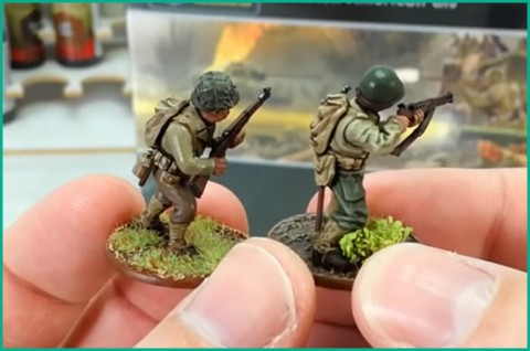 New Warlord/Bolt Action US infantry boxed set comparison