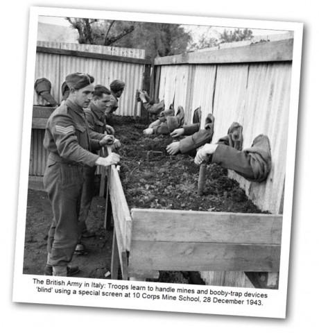 Friday Photo - anti-mine training