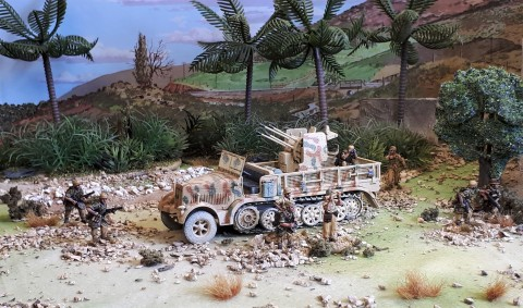 Friday Photo; new model ...Corgi Sdkfz 7/1