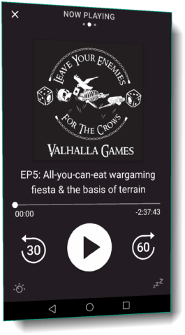 "Podcast EP5: All-you-can-eat wargaming fiesta & ""the basis of terrain"""