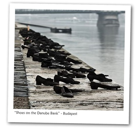 "Friday Photo: ""Shoes on the Danube Bank"" - Budapest"