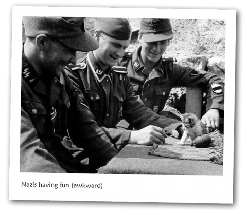 Friday Photo - Nazis having fun